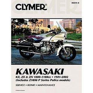 Purchase Clymer Repair/Service Manual '81-84 Kawasaki KZ/ZX/ZN 1000-1100 (M451-3) motorcycle in Holland, Michigan, United States, for US $35.43