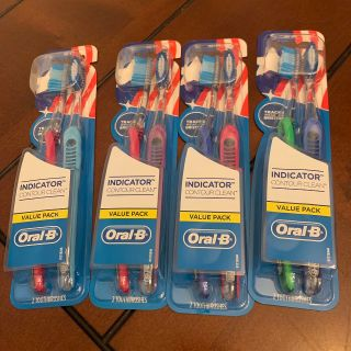 Oral B toothbrushes