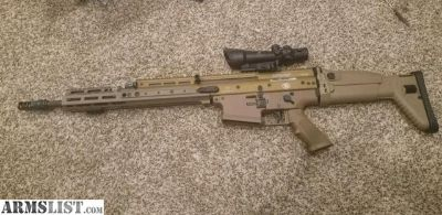 For Sale: Scar 17 with Acog and more!