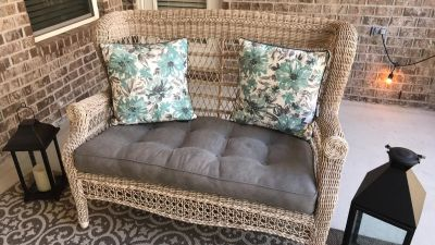 Patio furniture (chair & loveseat only)