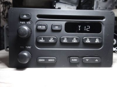 Sell Chevy Alero 03-04 Cavalier 03-05 Malibu 03-04 CD player radio U1C TESTED 1528g motorcycle in Philadelphia, Pennsylvania, United States, for US $46.00