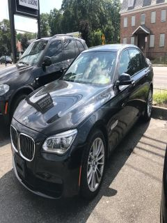 2013 BMW MDX 750Li xDrive (Black)