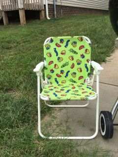 Toddler sized beach/camp chair