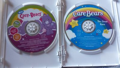 2 Care Bear DVDS
