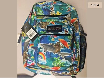 NEW! Jansport Big Student Limited Pattern Backpack Shipping Available/ Porch Pick Up