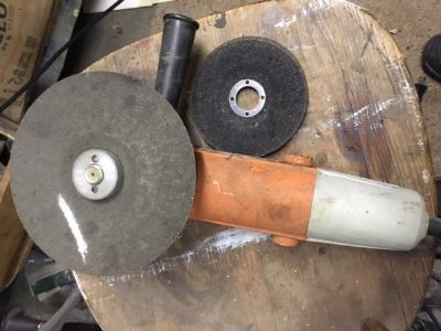 """Pre-Owned Chicago Electric 4.5"""" Angle Grinder #91223"""