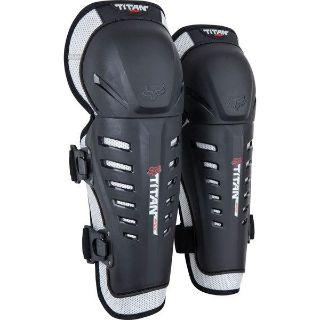 Find Black/Silver Fox Racing Titan Race Knee/Shin Guards motorcycle in San Bernardino, California, US, for US $29.95