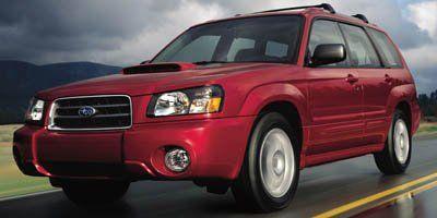 2005 Subaru Forester XT (Champagne Gold Metallic/Premium Silver M)