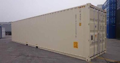 40ft high cube one trip shipping container
