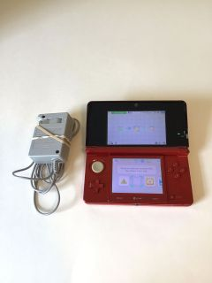 Nintendo 3ds system and charger