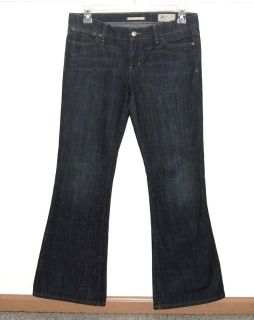 Gap Limited Edition Button Flap Pocket Flare Denim Jeans Womens 10 x 32 Tall