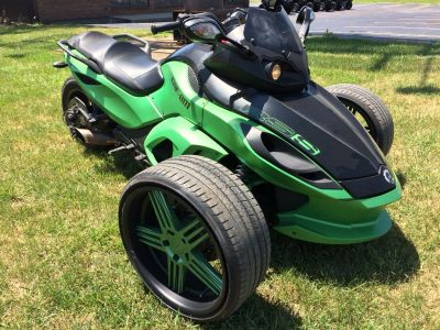 2013 Can-Am Spyder RS-S SE5 3 Wheel Motorcycle Belleville, MI