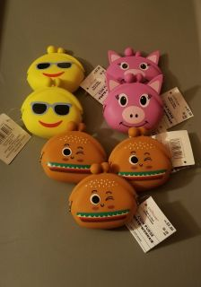 New 7 Silicone Coin Purses $0.50 each (Stocking Stuffers)