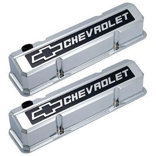 Buy GM 141-922 SB Chevrolet Bowtie Slant Valve Covers Chrome motorcycle in Suitland, Maryland, US, for US $281.83
