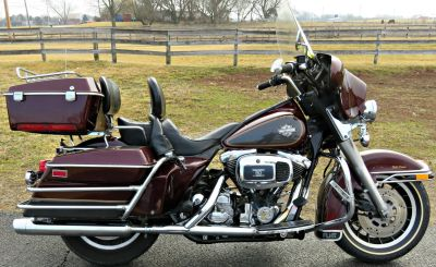 1985 HARLEY DAVIDSON ELECTRA GLIDE CLASSIC Touring Motorcycles Marengo, IL