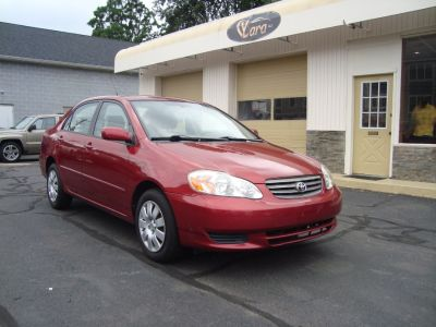 2004 Toyota Corolla CE (Impulse Red Pearl)
