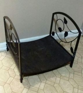 WROUGHT IRON/FIRE WOOD HOLDER......EXCELLENT CONDITION