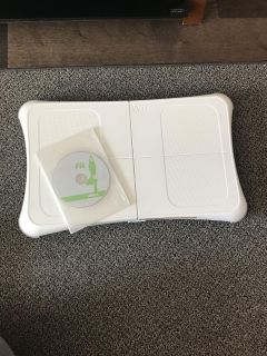 Wii Fit Board + Game