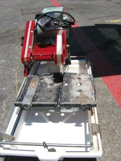 $400, tile saw, radial chop saw and flooring