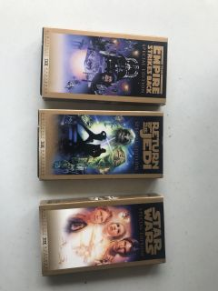 Star Wars Special Edition Trilogy- VHS