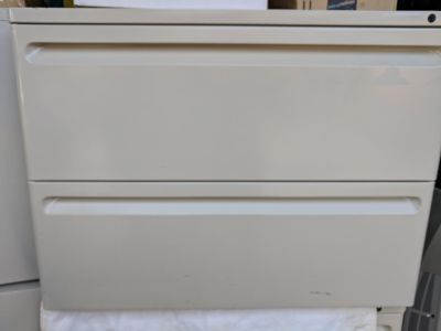 2 Drawer Lateral Business Filing Cabinet