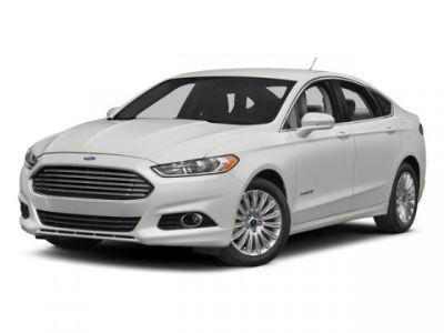 2015 Ford Fusion Hybrid Titanium (White)