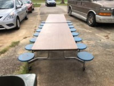 Old school lunch table