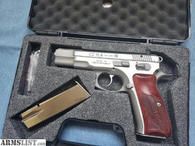 For Sale: CZ 75 B Two Tone Stainless