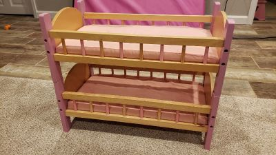 American girl or our generation doll bed
