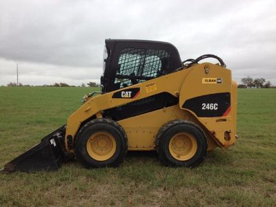 2011 Caterpillar 246C Skid Steer