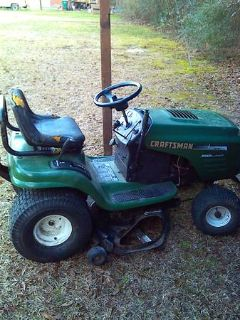 42Craftsman riding mower