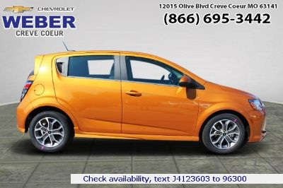 2018 Chevrolet Sonic LT (ggq orange burst metallic)