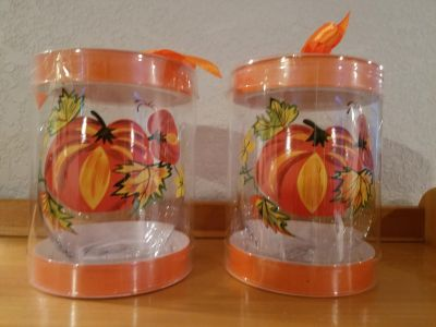 Stemless Wine Glass $3 for both