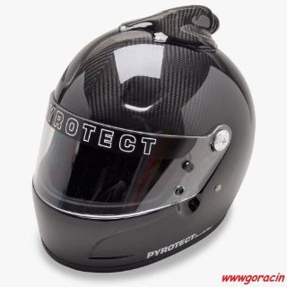 Sell SA2015 Pyrotect Pro Airflow Carbon Fiber Top Forced Air Helmet,SCCA,NASA,Chump motorcycle in Redmond, Oregon, United States, for US $879.00