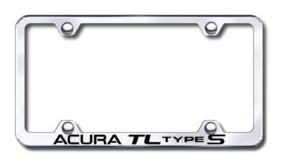 Sell Acura TL S Wide Body Engraved Chrome License Plate Frame Made in USA Genuine motorcycle in San Tan Valley, Arizona, US, for US $30.98