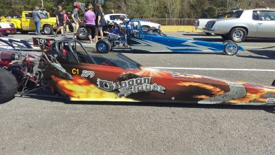 Jr. Dragster W/Trailer
