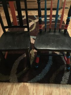 DIY PROJECTS 2 wooden chairs