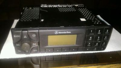 Find MERCEDES BENZ R129 SL500 Stereo Radio Cassette with Code motorcycle in Carrollton, Texas, United States