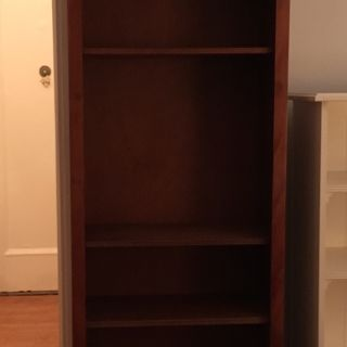 Set of classic bookcases