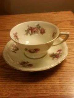 RS Germany porcelain tea cup and saucer
