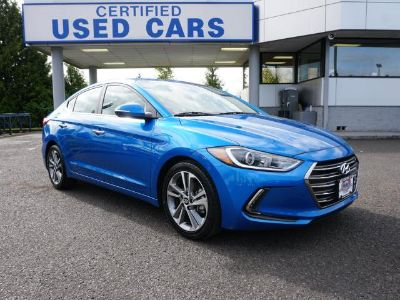2017 Hyundai Elantra (Electric Blue Metallic)