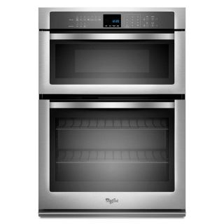 "Whirlpool Combo 27"" Wall Oven Mircowave NEW WOC54EC7AS"