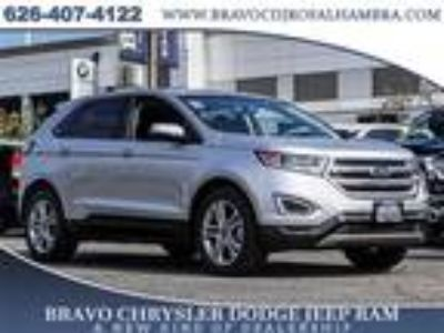 Used 2018 Ford Edge Silver, 31.7K miles