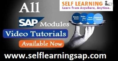 Looking for SAP Selflearning Course videos are available @ Best Price in selflearningsap centre