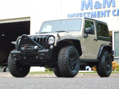 2016 Jeep Wrangler Willys Wheeler W / 4x4 / Hard (Mojave Sand Clear Coat)