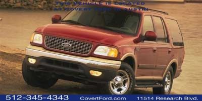 1999 Ford Expedition XLT (White)