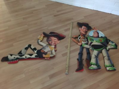 Vintage Cardboard Toy Story Cutouts