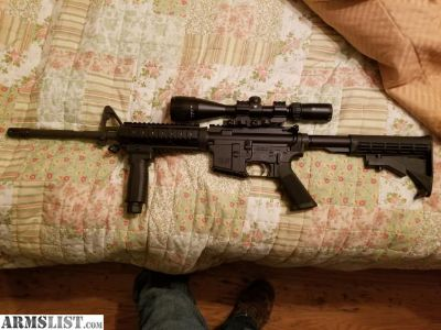 For Sale/Trade: Fn ar15 with scope