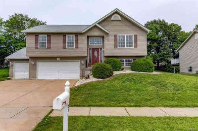 234 Split Rail Drive WENTZVILLE Three BR, OPEN HOUSE from 4-7 on