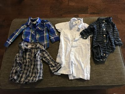 12 month Button downs